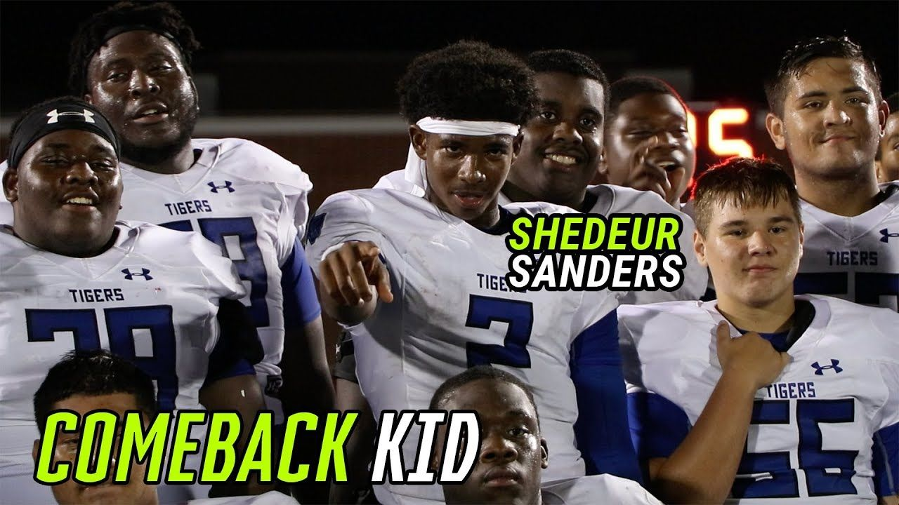 Shedeur Sanders Puts The TEAM ON HIS BACK! Throws DIMES In Wild Comeback 🔥
