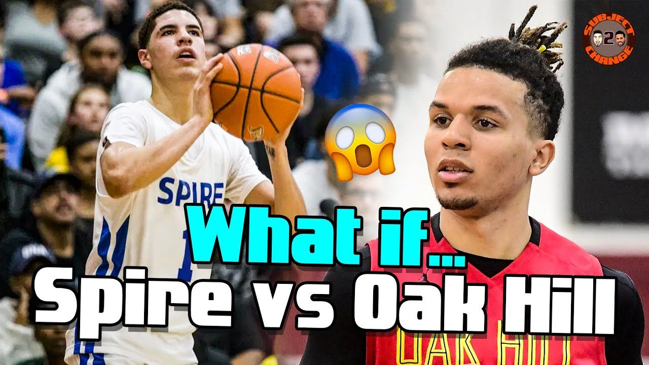 Why Didn't LaMelo Ball & Cole Anthony Play Each Other? The Truth Behind SPIRE vs OAK HILL W/Cole 🔥
