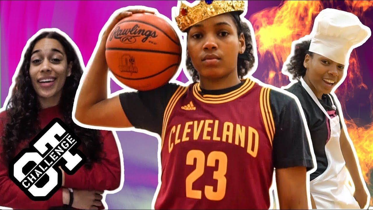 Zia Cooke Is The QUEEN Of The Overtime Challenge! Calls Out Steph Curry & Shows INSANE Layup Package