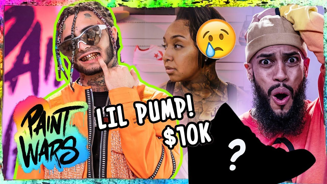 """Lil Pump SHOCKED By Insane Custom Shoes! Emotions EXPLODE With $10K On Line! """"DON'T Talk To Me"""" 😱"""
