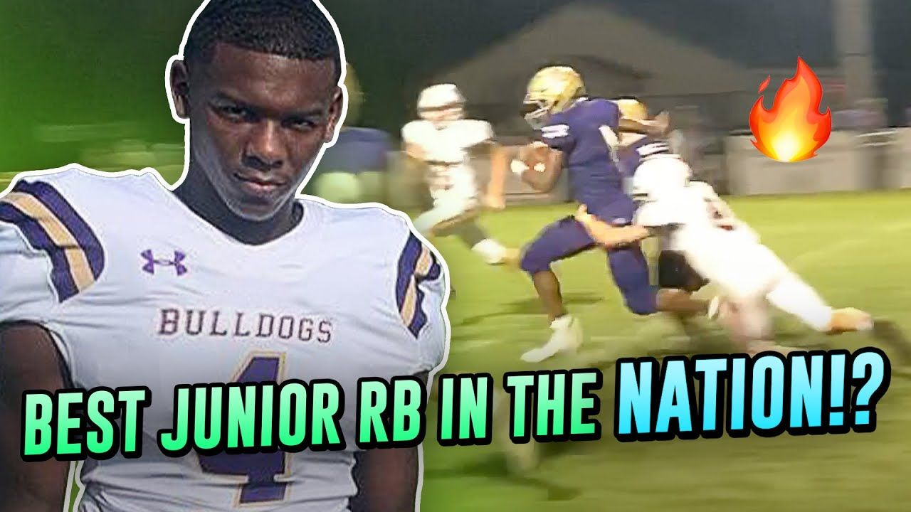 #1 Junior RB In The Nation Rushes For Nearly 400 Yards!? Emmanuel Henderson Is UNSTOPPABLE!