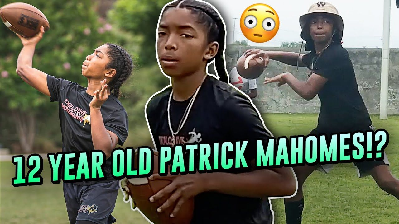 12 Year Old Prodigy Jaden Jefferson Is BETTER Than High School QBs! Already Throwing Like MAHOMES!?