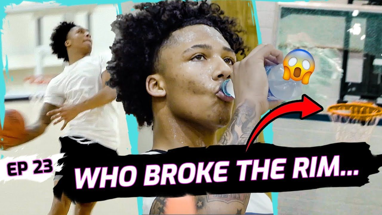 """""""I'm About To Hit 3 Mil!"""" Did Mikey Williams BREAK THE RIM!? BATTLES Team After Trey INJURY 😱"""