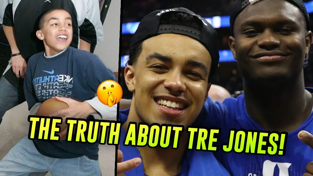 How Tre Jones Recruited Zion Williamson To Duke & Became A STAR NBA Prospect! The TRUTH About Tre 😱