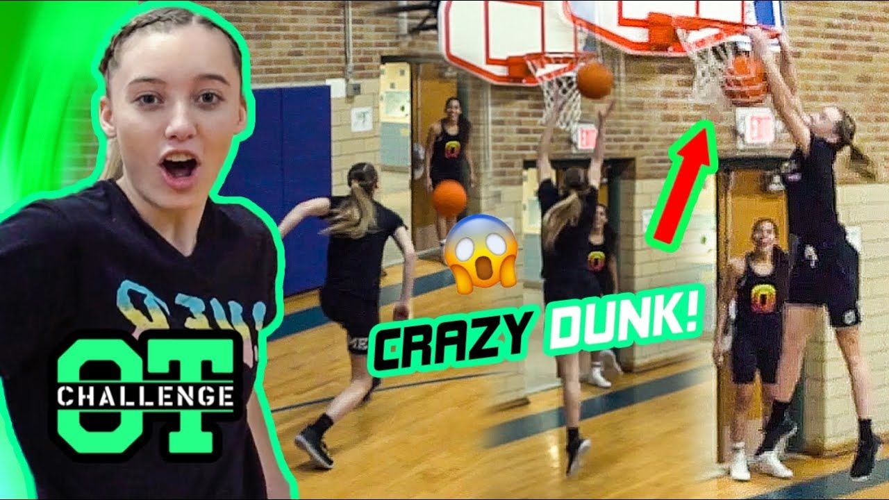 Paige Bueckers DUNKS In Overtime Challenge! Gets SHOCKED By Azzi Fudd & Claps Back At Kyree Walker!