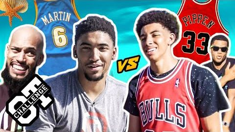 Scotty Pippen & KJ Martin FACE OFF In Sierra Canyon Overtime Challenge! Cassius Stanley Co-Hosts 😱