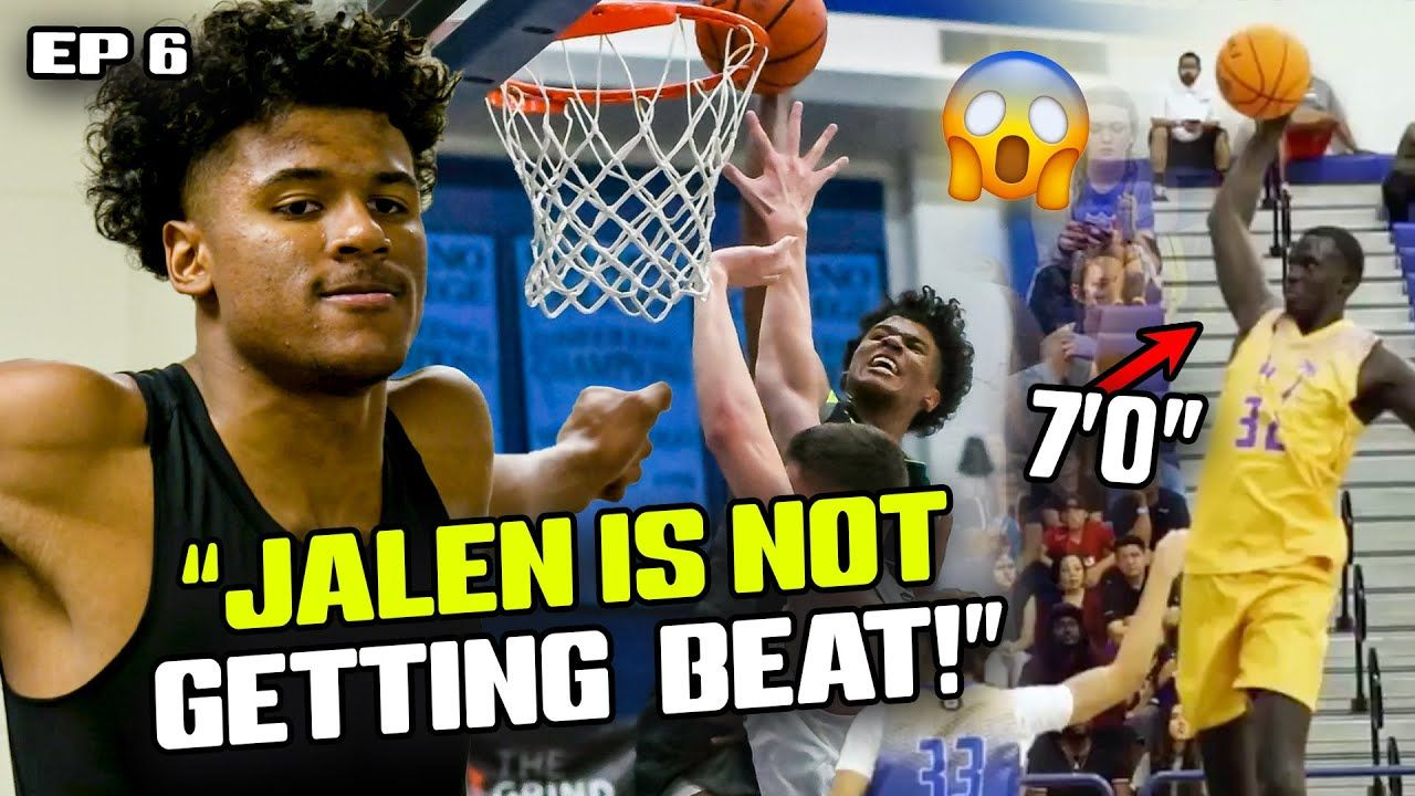 """We Need An UNDEFEATED Season!"" Jalen Green Explains SHORT SHORTS! Prolific BATTLES 7'0"" Makur Maker"