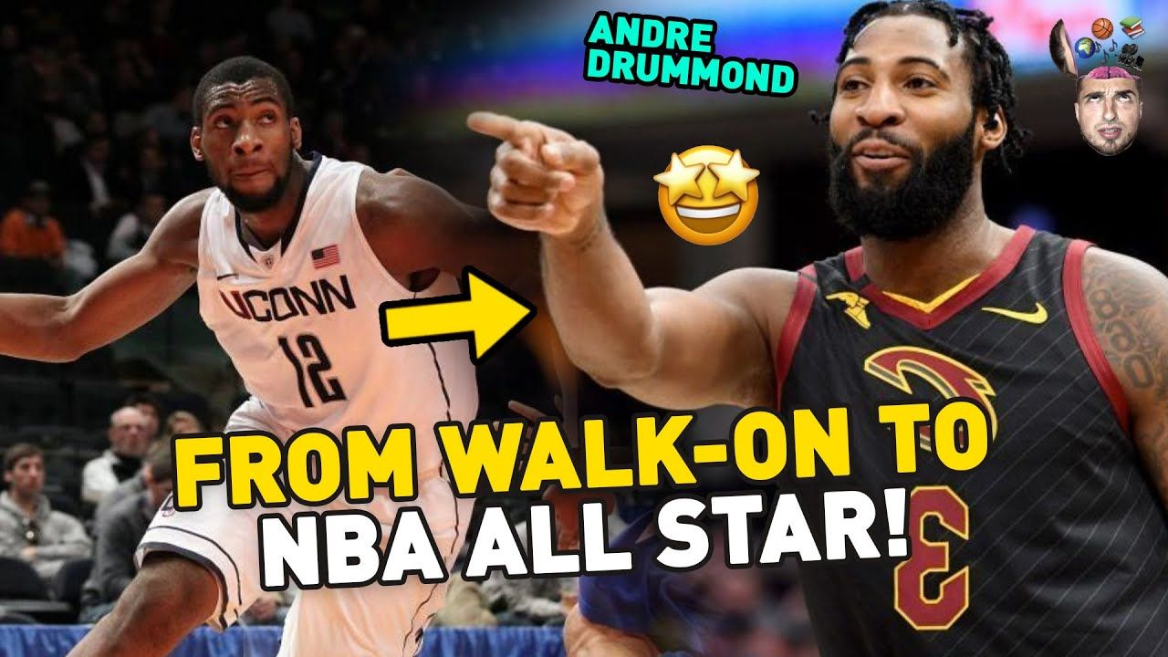Andre Drummond Was A WALK-ON!? Cavs Stars Talks Getting Traded, DJ'ing & MOM TAKING LOANS for UCONN
