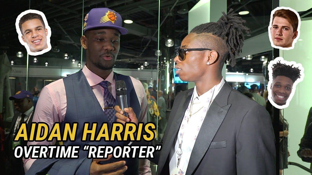 Future NBA Draft Pick Aidan Harris Igiehon Interviews Luka Doncic, Grayson Allen & Wayyy More 😱
