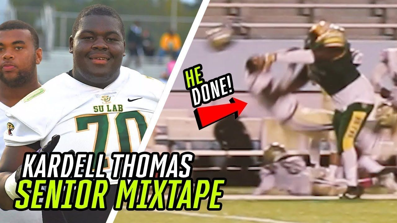 Kardell Thomas Is READY For LSU! Mr. Pancake's SENIOR HIGHLIGHTS 🥞
