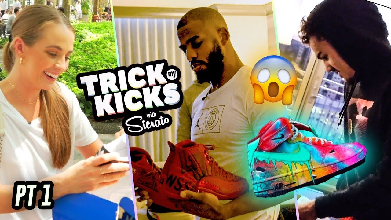 World's Best Sneaker Artist Makes Customs For Chris Paul, Trae Young, Filayyyy & More! 🔥MARATHON