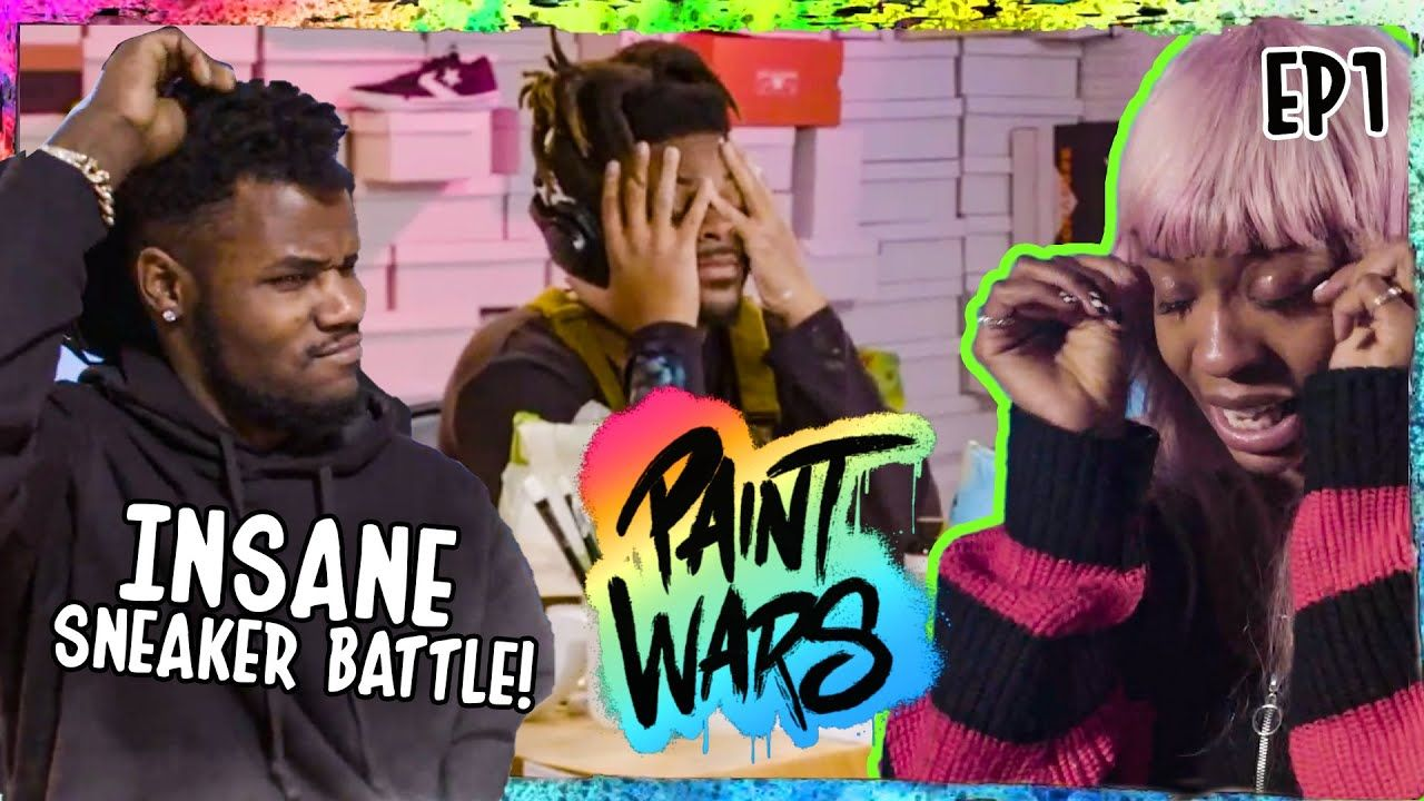 "BATTLE OF THE SHOE CUSTOMIZERS! World's Top Sneaker Artists FIGHT For $10K! ""It's Getting STRESSFUL"""