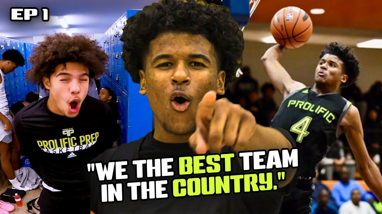 "Jalen Green STARS In The Prolific Prep REALITY SHOW! ""We Got The BEST Athletes In The World"" 😱"