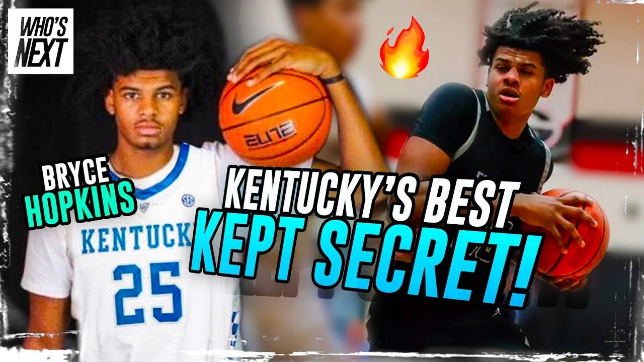 """""""Nothing Was Handed To Me."""" How 6'8"""" Bryce Hopkins Became Chicago's BEST Hooper & Signed W/ Kentucky"""