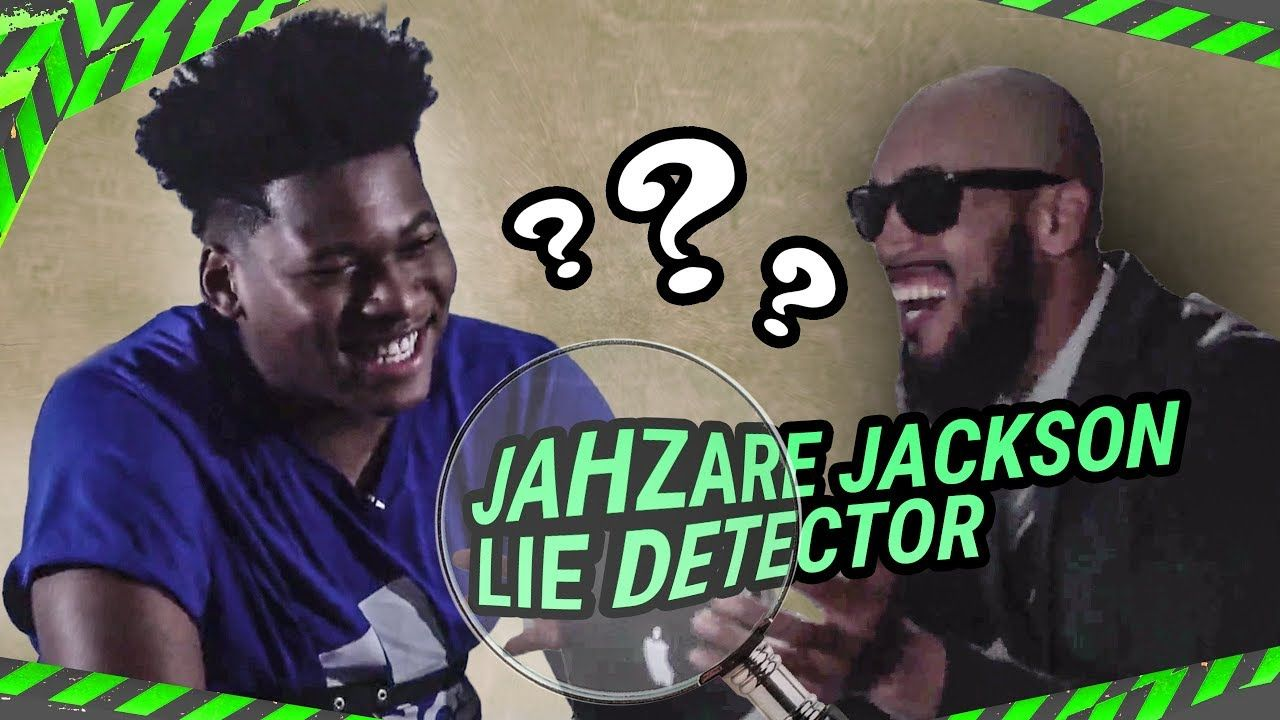 "6'10"" 8th Grader Jahzare Jackson Calls Zion Williamson HIS SON! Tells Lies About LEBRON 😱"