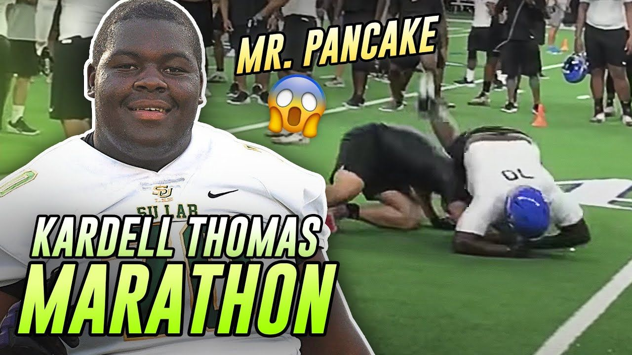 """I Own You!"" Kardell Thomas Is READY For The SEC! LSU Lineman's Overtime MARATHON 🔥"