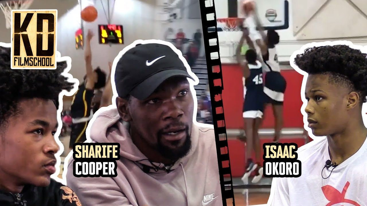 """I'm One Of Y'all... And I Got A Couple Dollars!"" Kevin Durant Spits FACTS To Sharife Cooper & Okoro"