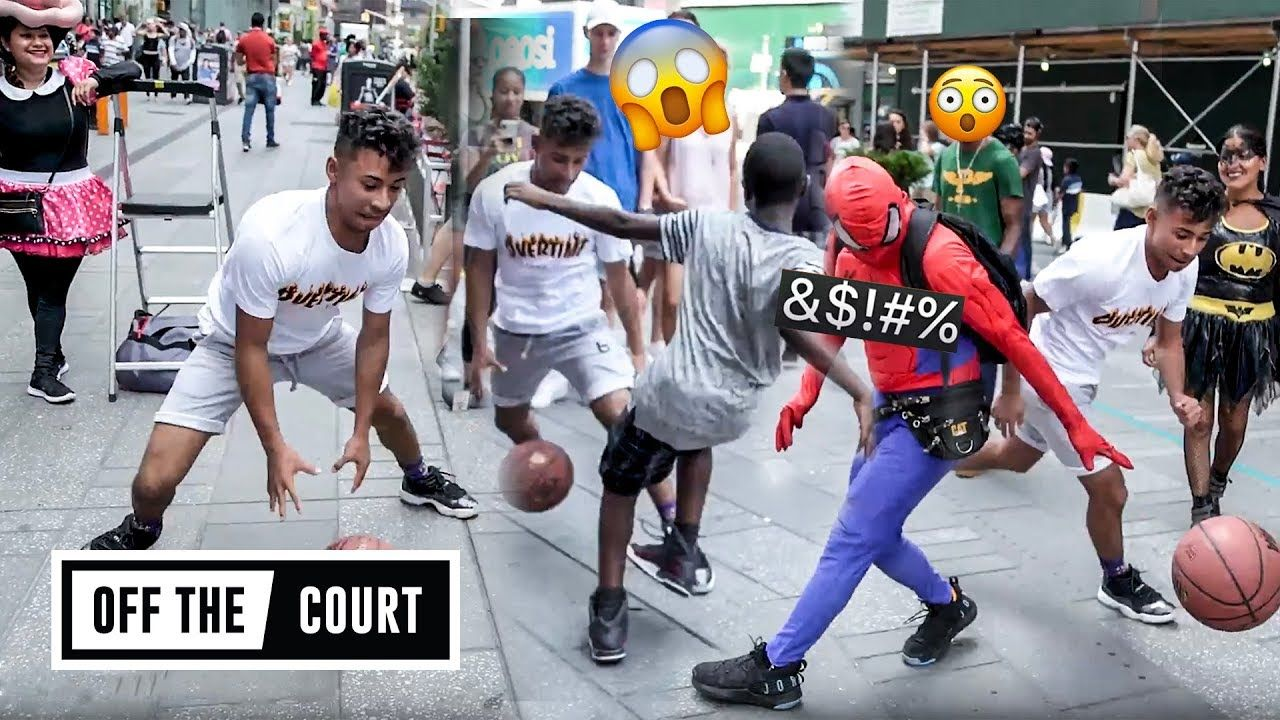 Julian Newman Takes Over TIMES SQUARE! Crosses Up Random Fans & Breaks Off SPIDERMAN 😂