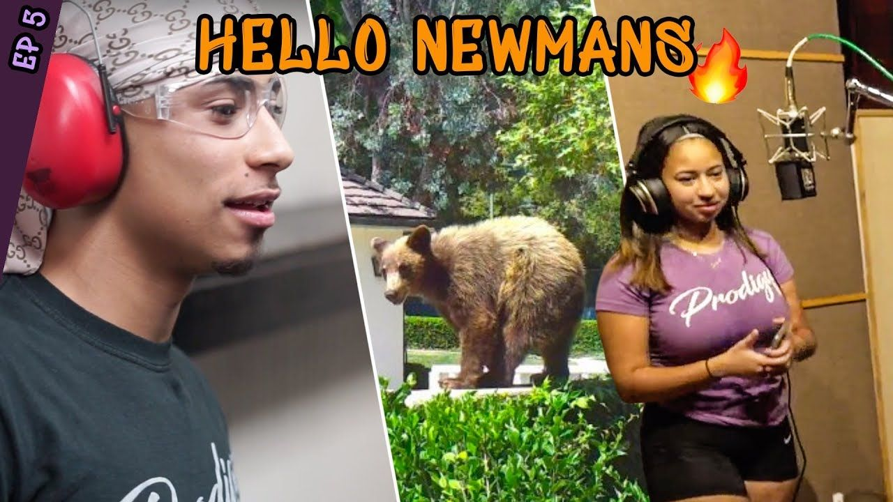 """I Got Grown Men In My DMs!"" Jaden Newman DROPS BARS In The Studio & Julian Goes BEAR HUNTING 😱"