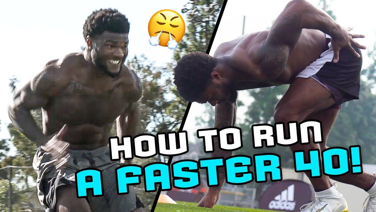 """Half A Second Could Be MILLIONS Of Dollars!"" Rams Rookie Cam Akers Learns SECRET To Run The 40!"