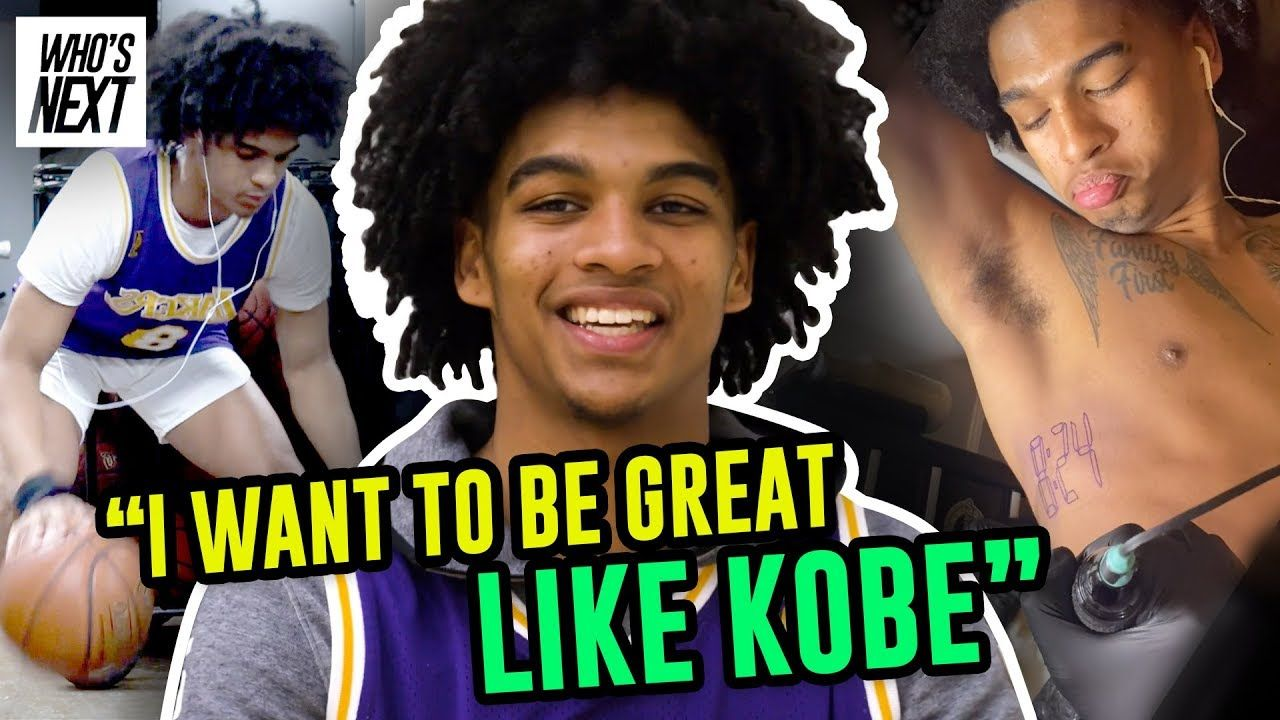 """Ain't NO Days Off."" Skyy Clark Will Stop At NOTHING To Be Great! Opens Up On Pressure & Kobe Tattoo"