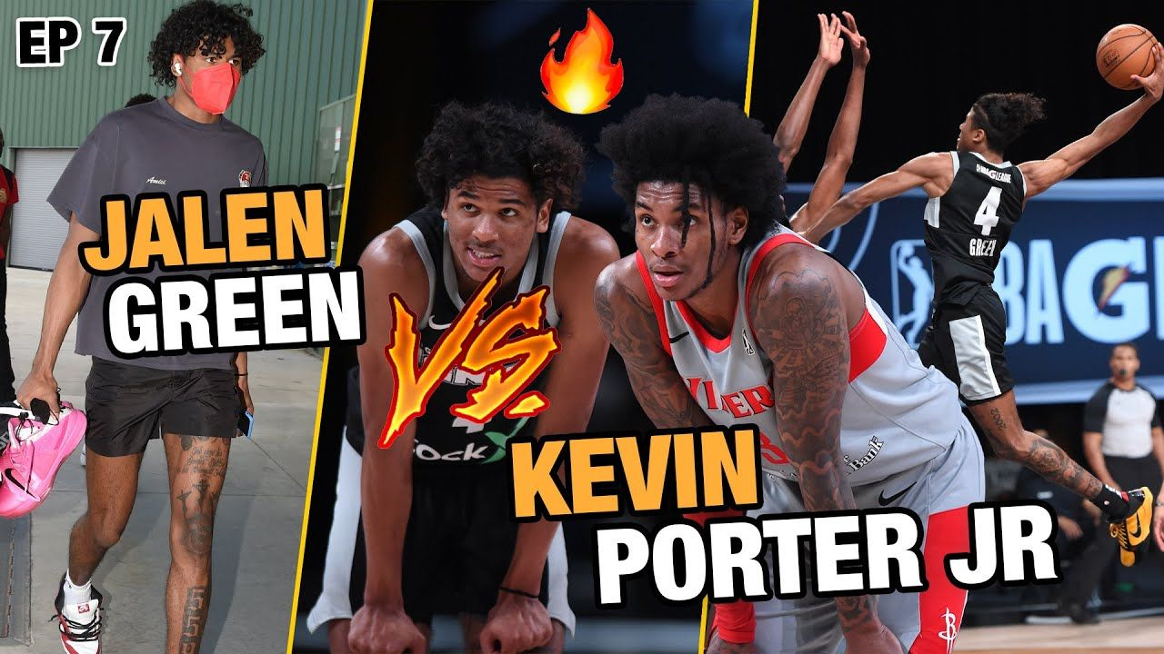 """""""He Asked To Come Out!"""" Jalen Green BATTLES Kevin Porter Jr In HUGE GAME! Future NBA Rivals!?"""