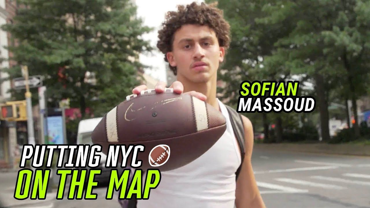 """I Gotta Make A NAME For This City!"" Sofian Massoud Is Putting On For NYC Football 🏆"