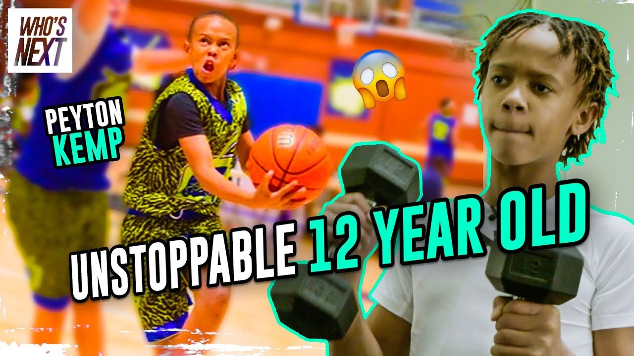 12 Year Old Peyton Kemp Is A PRODIGY! Trains At 5 AM EVERY DAY & Dominates High Schoolers 😱