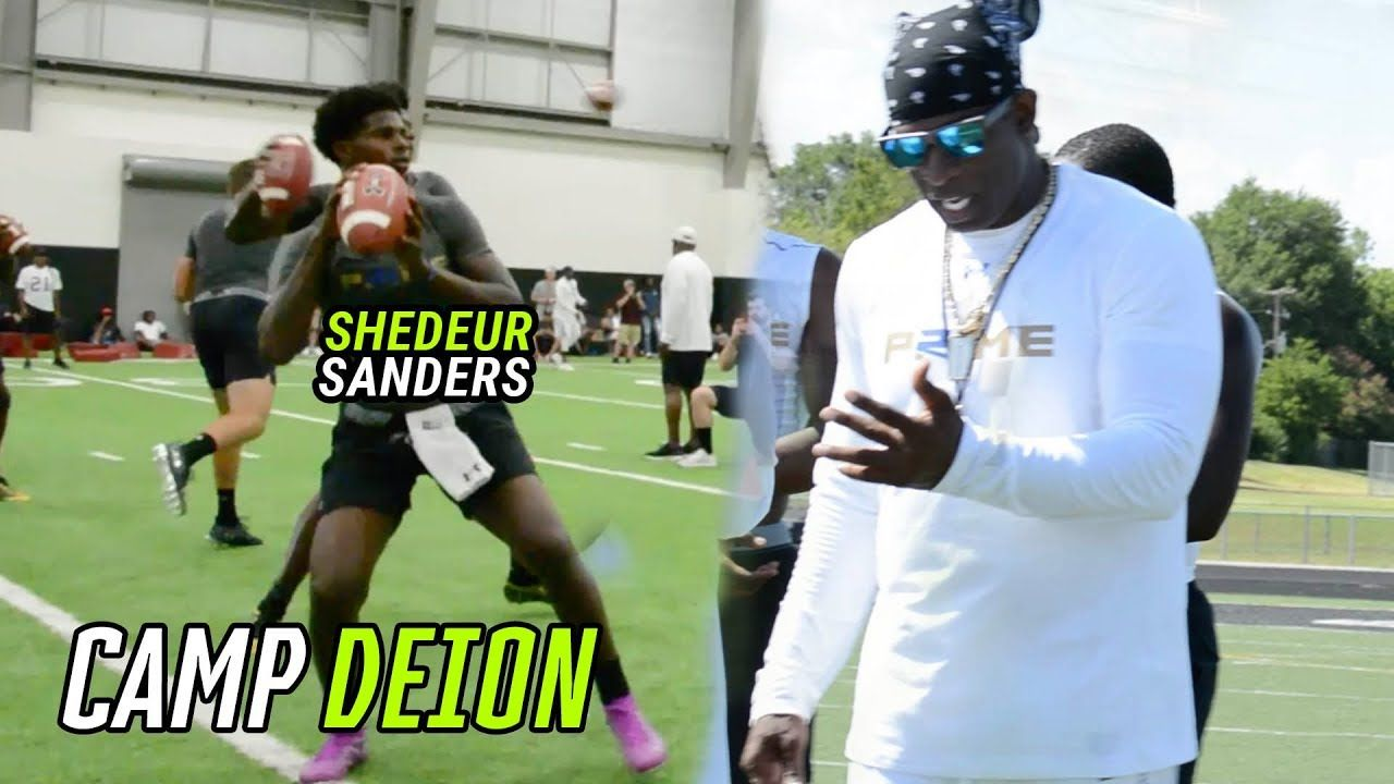 Deion Sanders COACHES The Best Recruits In The Nation At PRIME 21! Shedeur Sanders And More COMPETE!