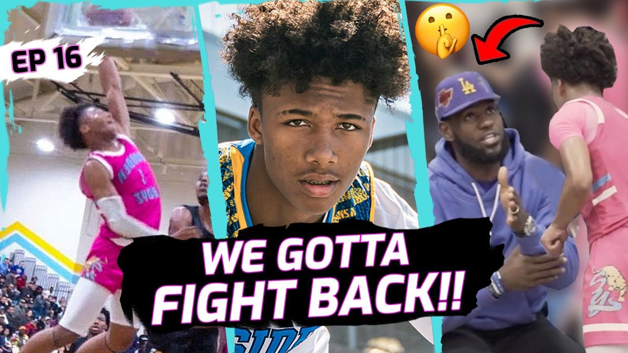 LeBron James Gives SECRETS To 16 Yr Old Prodigy! Mikey Williams OPENS UP On Only Season At Ysidro 😱