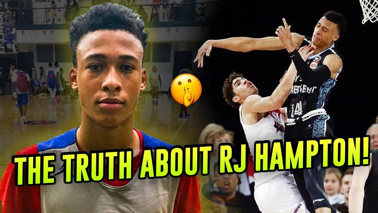 The TRUTH About RJ Hampton! How He Went From Freshman Star To LaMelo Ball's PRO Rival 😱