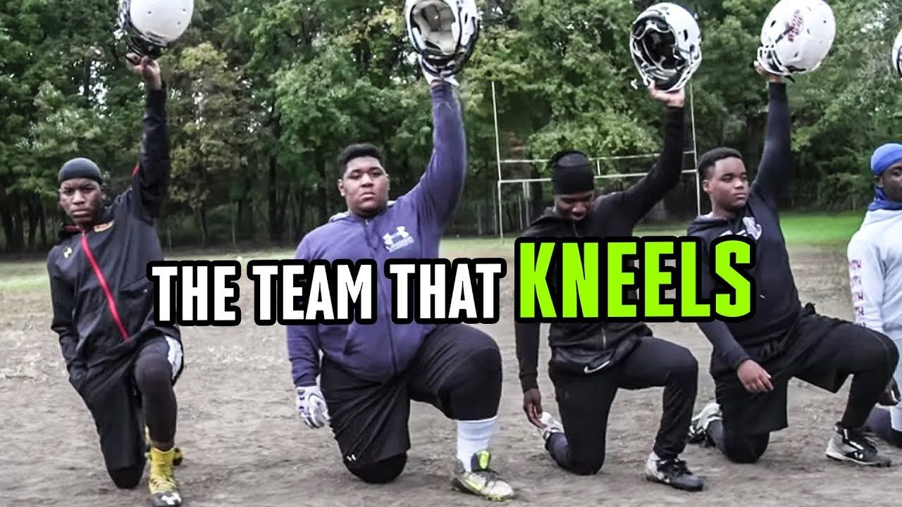 The WHOLE Team Kneels. How One D.C. Football Program Is Following Colin Kaepernick 😱