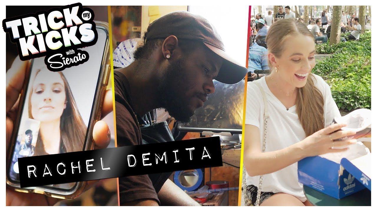 Rachel DeMita Gets CLEAN Adidas Customs From Sierato! Best Sneaker Artist In The World Is BACK 🔥