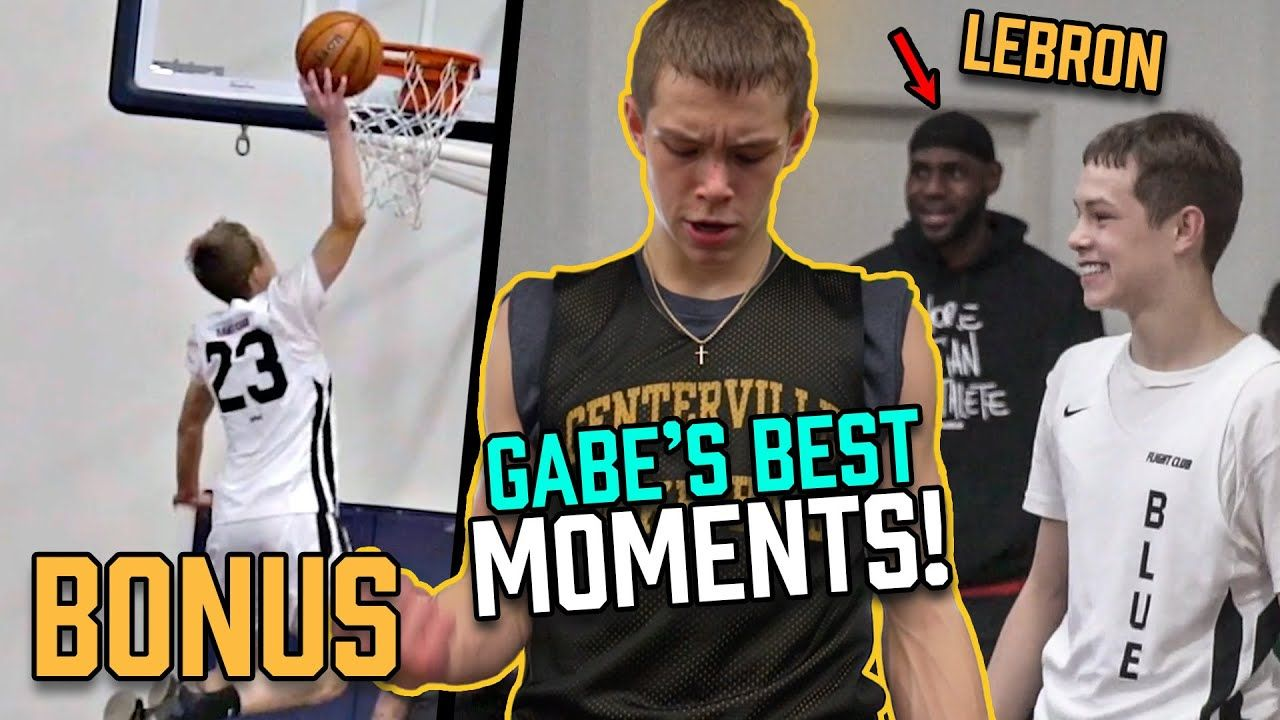 Gabe Cupps' WHOLE Freshman Season In 10 Minutes! Making Blue Chips + Challenging LeBron 😱