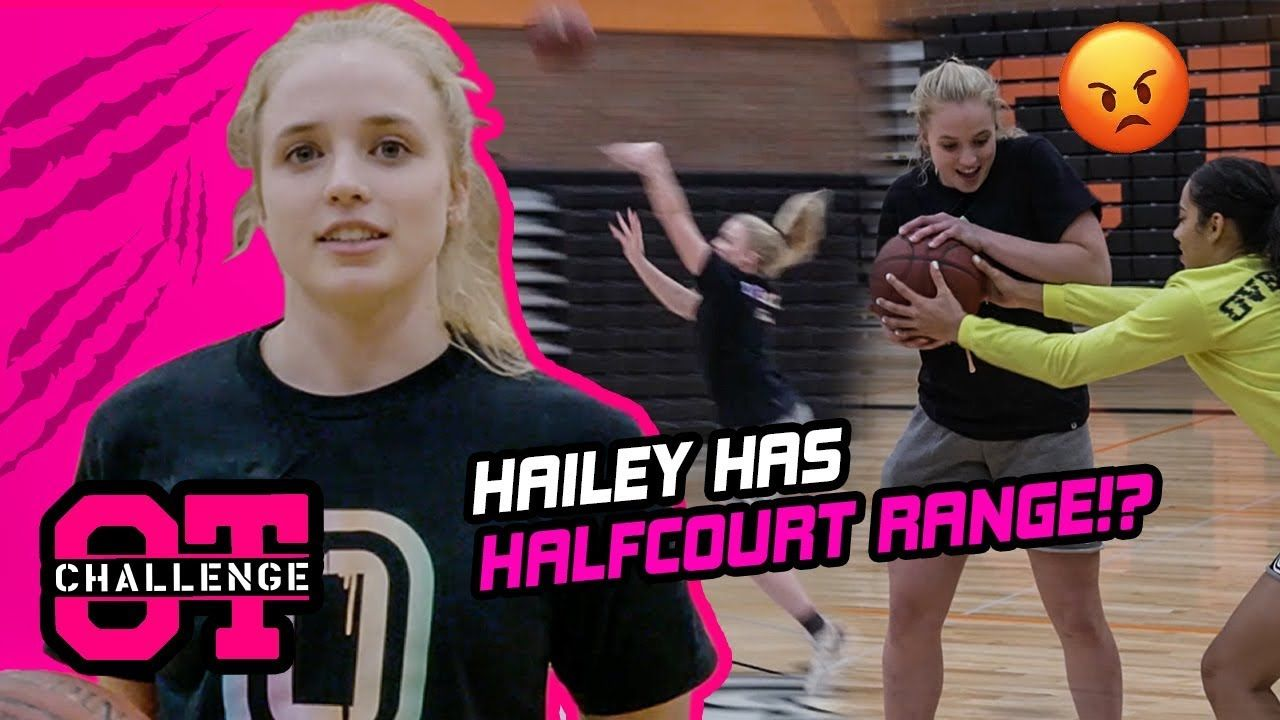 "Hailey Van Lith Shows Off RANGE & Talks Kobe In Overtime Challenge! ""He Taught Me To Be A Killer."""