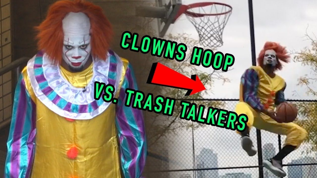 Clowns Pull Up To NYC Park & DESTROY Trash Talkers! Get Crazy Before HALLOWEEN 😱