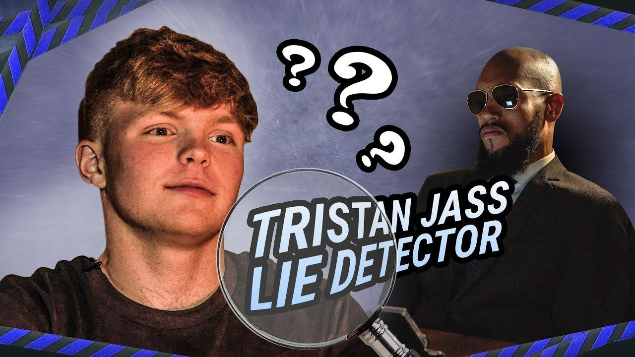 Tristan Jass Misses Wide Open LAYUPS! Gets EXPOSED On Lie Detector 😂