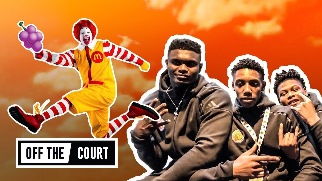 We Chilled With Zion, JQ & More As They GAVE BACK To The Kids! McDonald's All Americans Are AMAZING!
