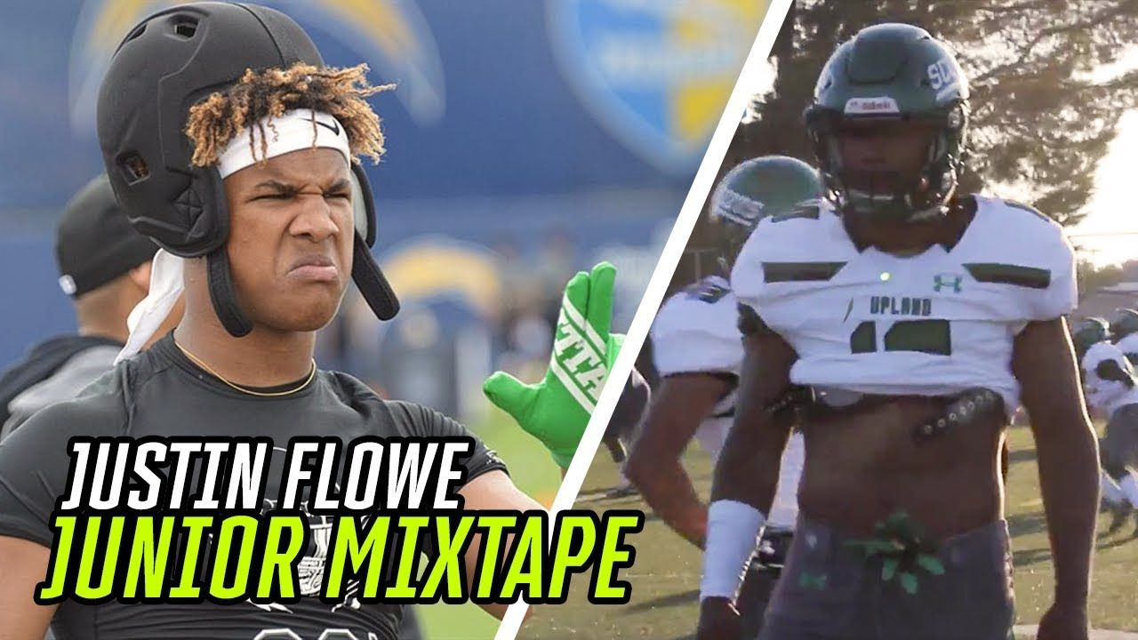 Justin Flowe Is The BADDEST Linebacker In The NATION! BABYMAN'S Official Junior Mixtape 😤