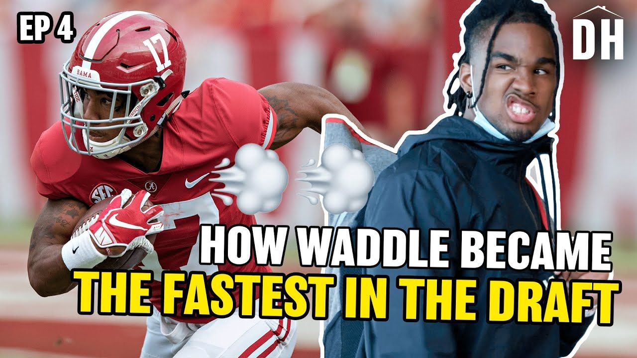 """""""We Used To Go To War!"""" Jaylen Waddle Opens Up About Hometown & Bama! Najee Harris Hosts COOK-OFF!?"""