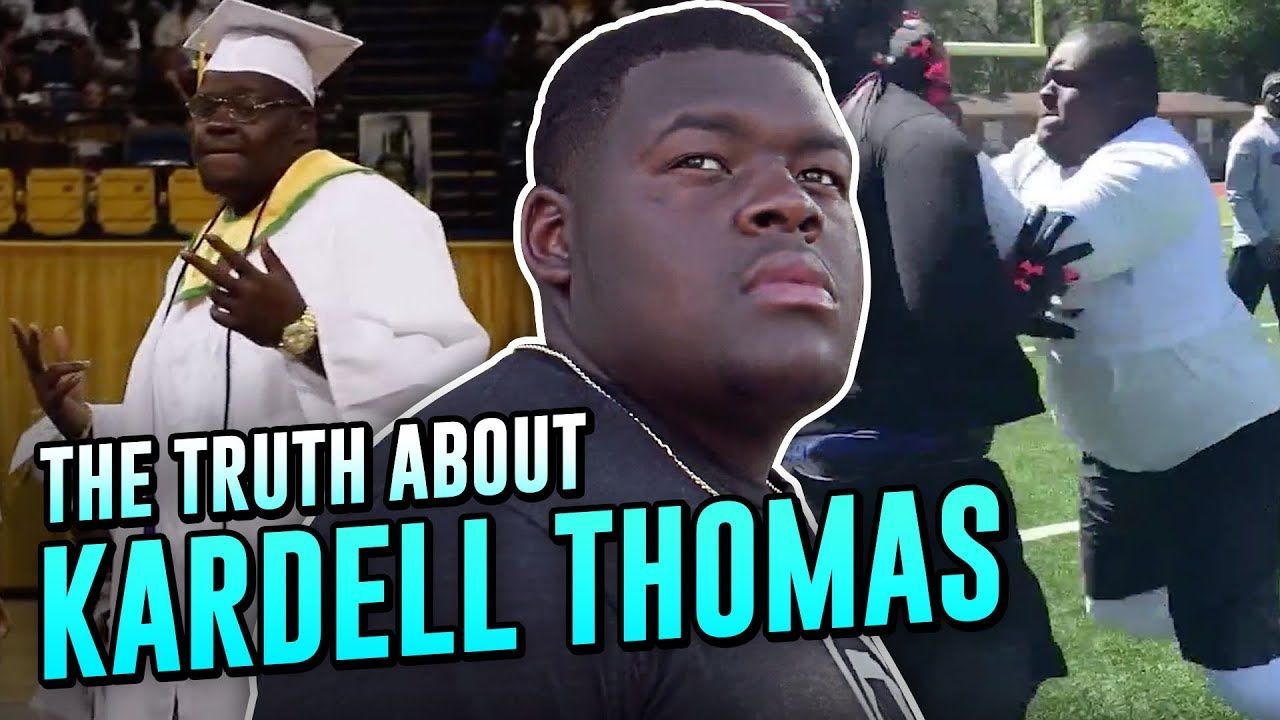 """The Nastiest Lineman Of His GENERATION!"" How LSU's Kardell Thomas Became A VIRAL SENSATION!"
