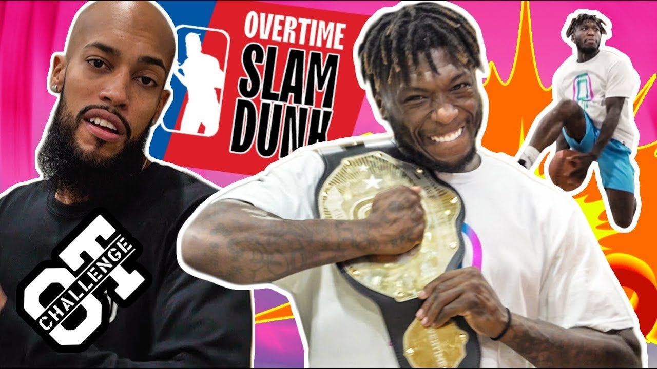 Nate Robinson Throws Down BETWEEN THE LEGS In The Overtime Challenge! TRASH TALKS & Gets Messy 😱