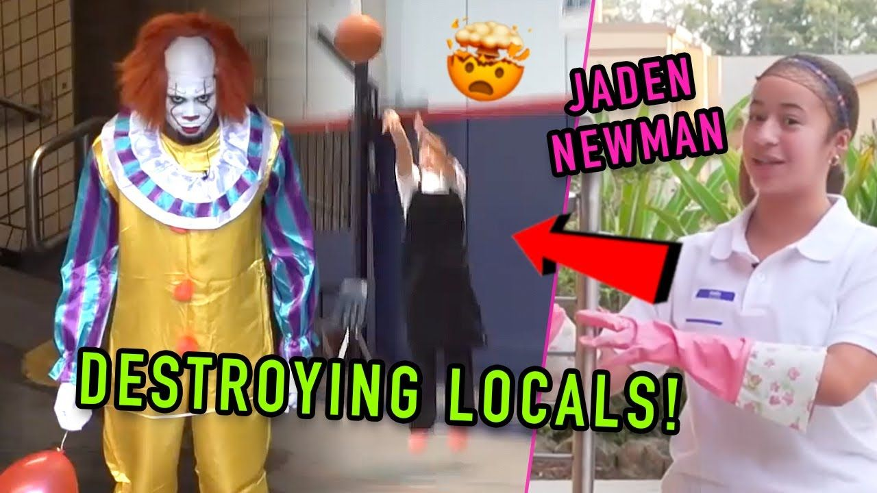 PRANKING Local Hoopers! Jaden Newman & OT Dress Up As CLOWNS, Lunch Ladies & More! UNSTOPPABLE