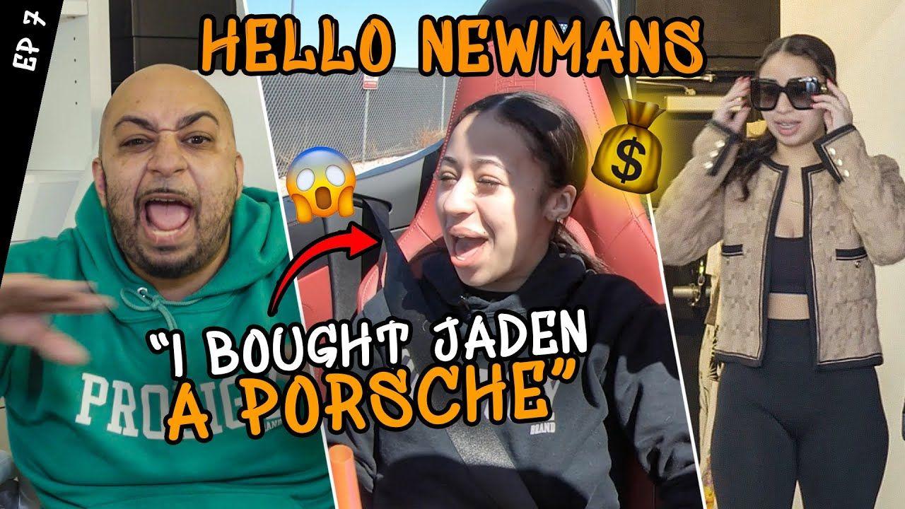 Jaden Newman Gets A PORSCHE & Has A Fashion Show! Julian Tries NEW SPORT While His Dad Goes BROKE 😱