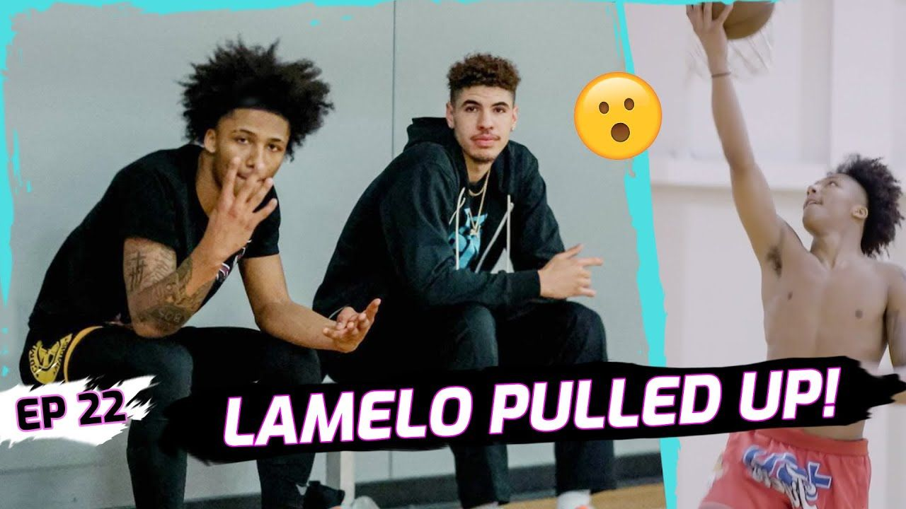 """LaMelo Ball Pulls Up To Mikey Williams' BIG GAME! Mikey Opens Up On San Diego! """"I Miss Being Home"""""""