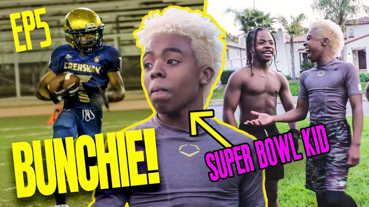 13 Year Old Bunchie Young Is BACK! Prodigy Trains With Football Guru & Heads To The SUPER BOWL!?