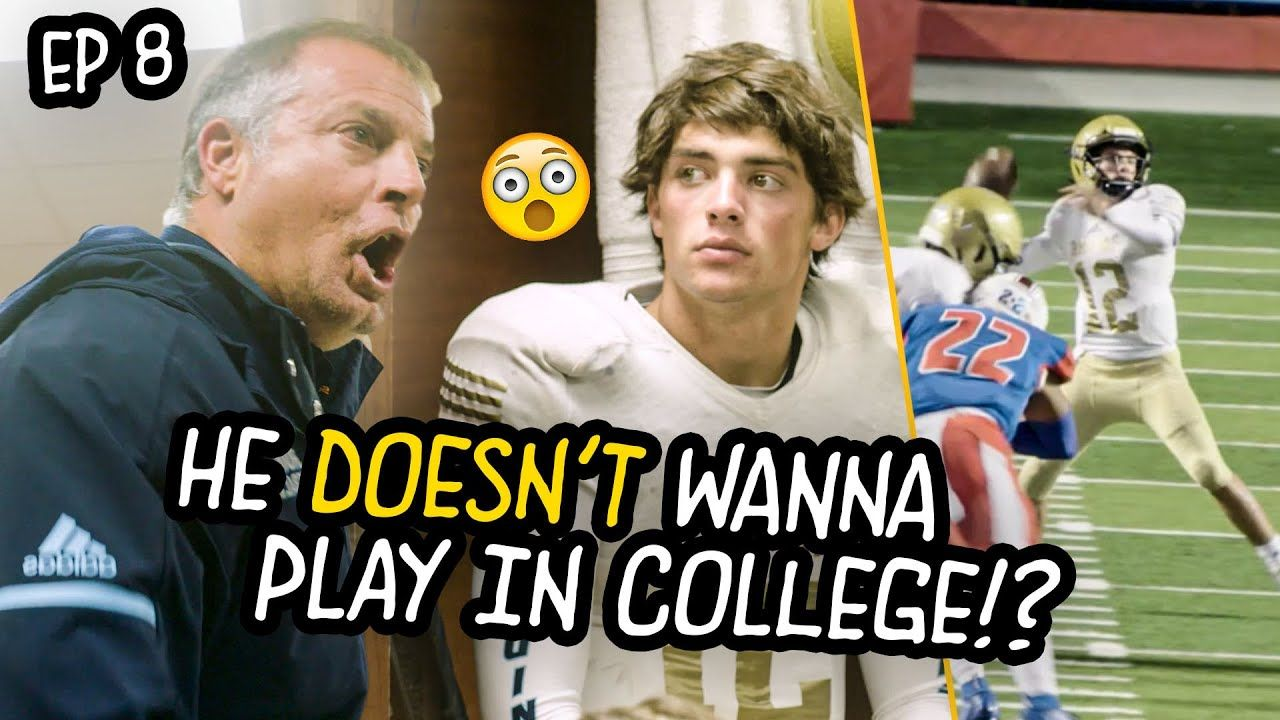 """DON'T CRY!"" Coach Kelley GOES OFF On Girl Kicker! Star QB Doesn't Want To Play In COLLEGE!?"