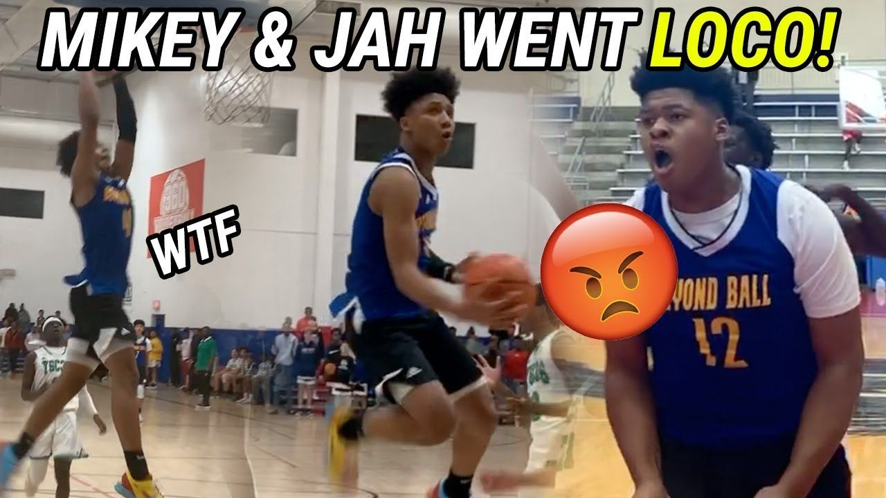 Eighth Graders Mikey Williams And Jahzare Jackson ARE BACK! DUNKS, BLOCKS... It's Not Fair 😨