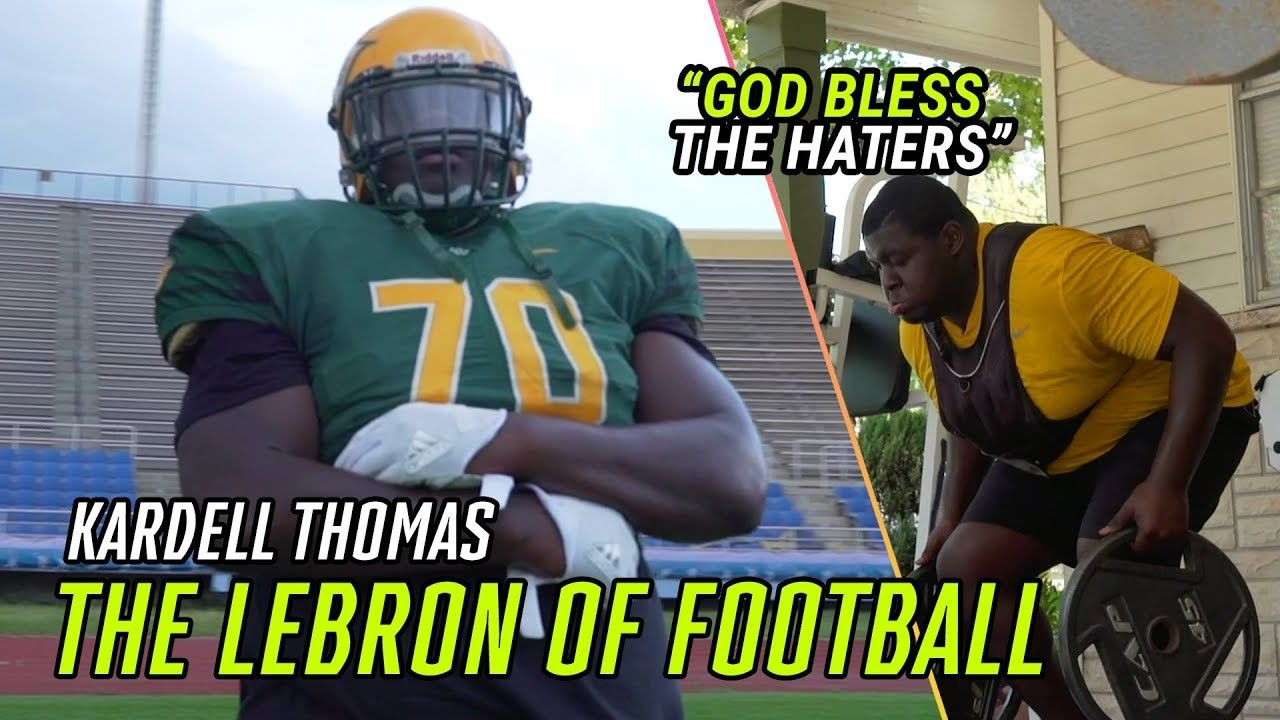 The LEBRON Of High School Football. Kardell Thomas Escaped Violence To Become A Louisiana LEGEND 🏆