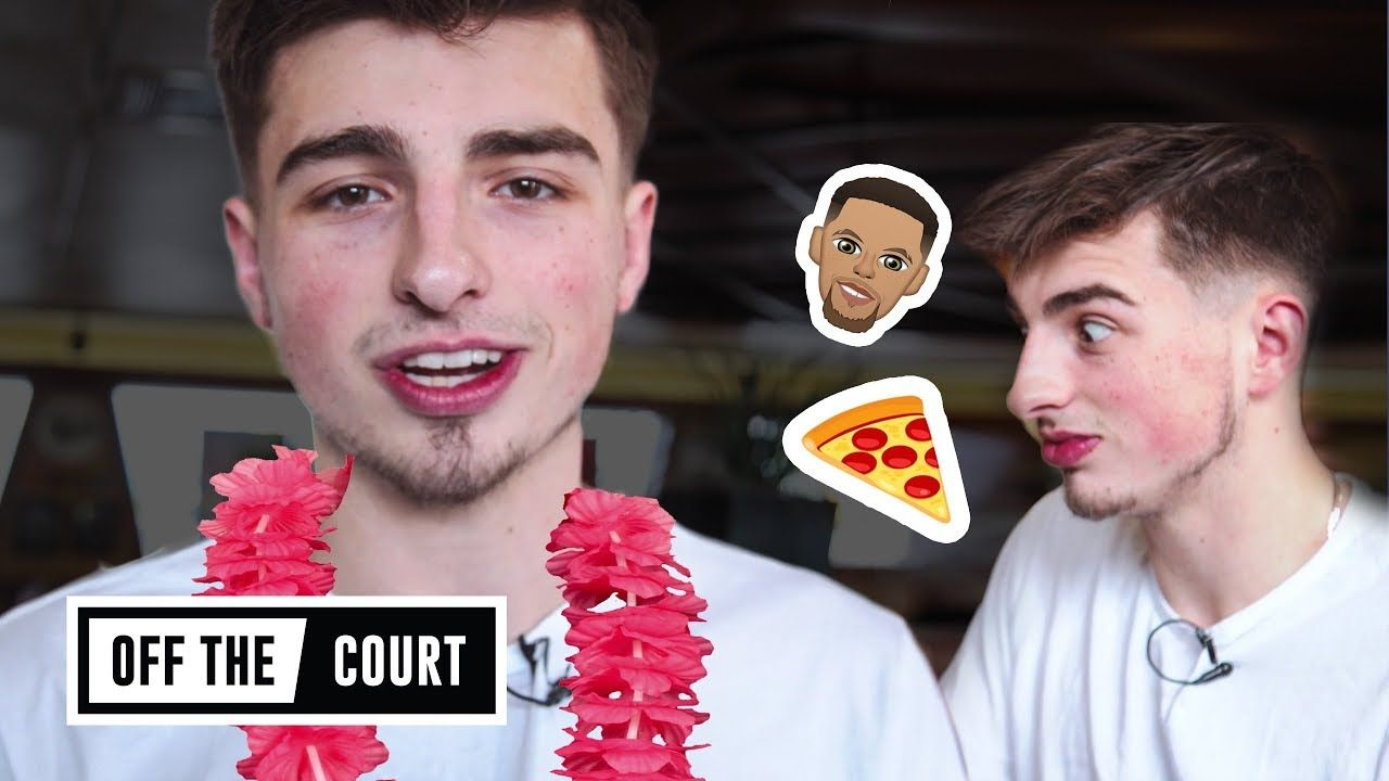 We Ate Pizza With Jordan McCabe And Talked LaMelo Ball, Trae Young & Steph Curry!
